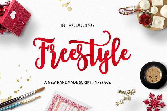 Freestyle Script Fonts Creative Market