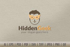 Hidden Geek Logo