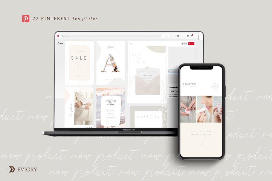 PS & CANVA Carlota - Social Media in Instagram Templates - product preview 8