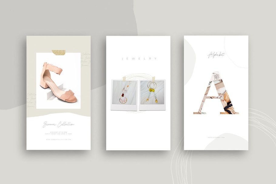 PS & CANVA Carlota - Social Media in Instagram Templates - product preview 4