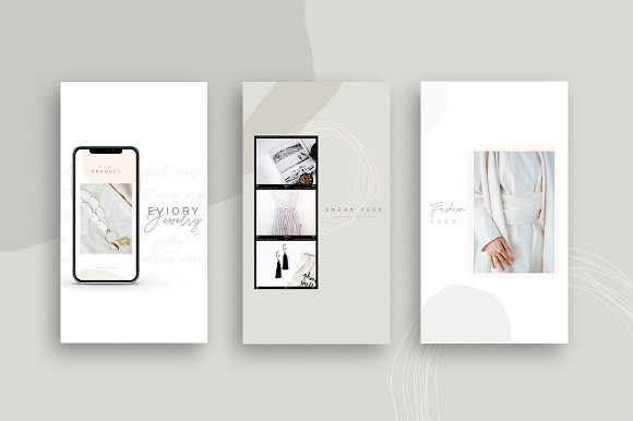 PS & CANVA Carlota - Social Media in Instagram Templates - product preview 6