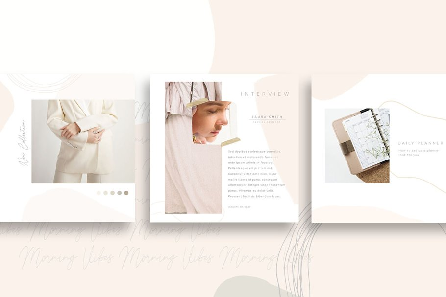 PS & CANVA Carlota - Social Media in Instagram Templates - product preview 7
