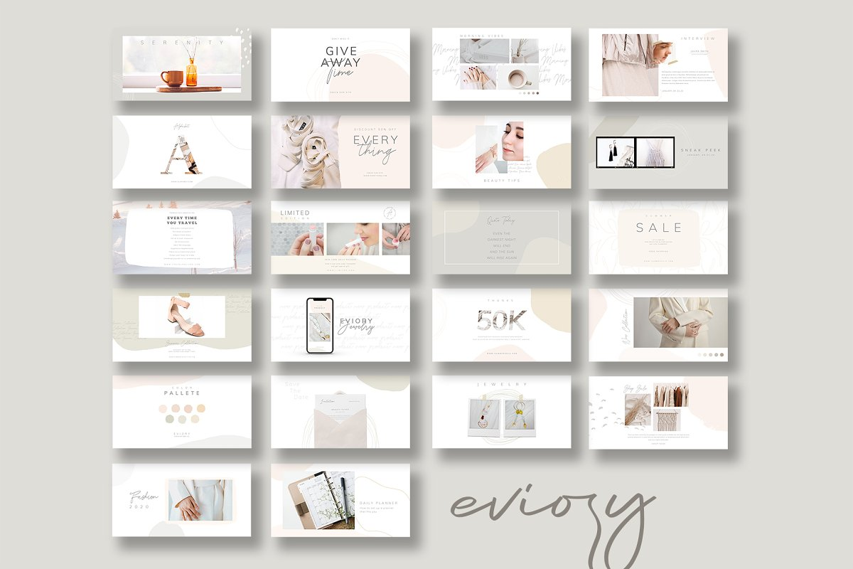 PS & CANVA Carlota - Social Media in Instagram Templates - product preview 11