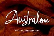 Australove - Modern Handwritten