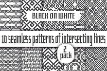 Black lines on white - Pack 2