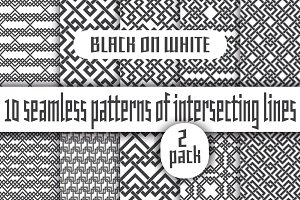 Black lines on white - Pack 2