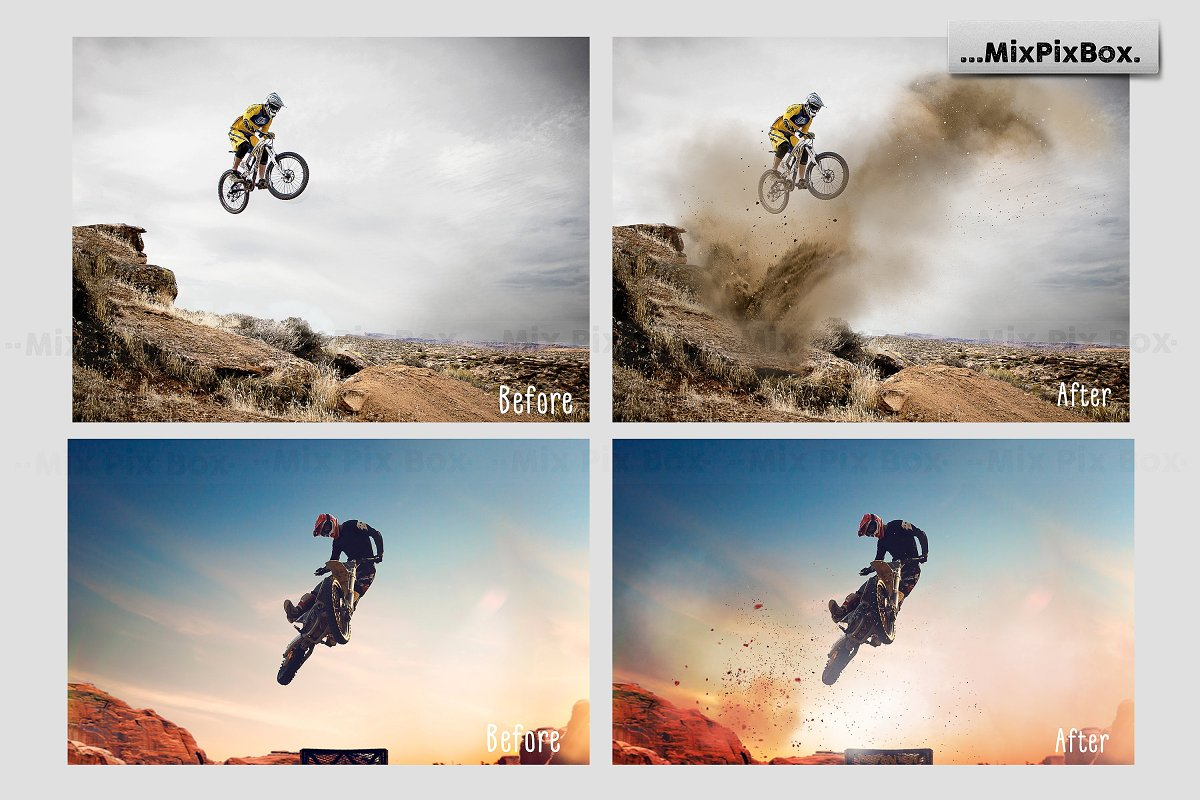 Dirt Explosion Photo Overlays in Add-Ons - product preview 1