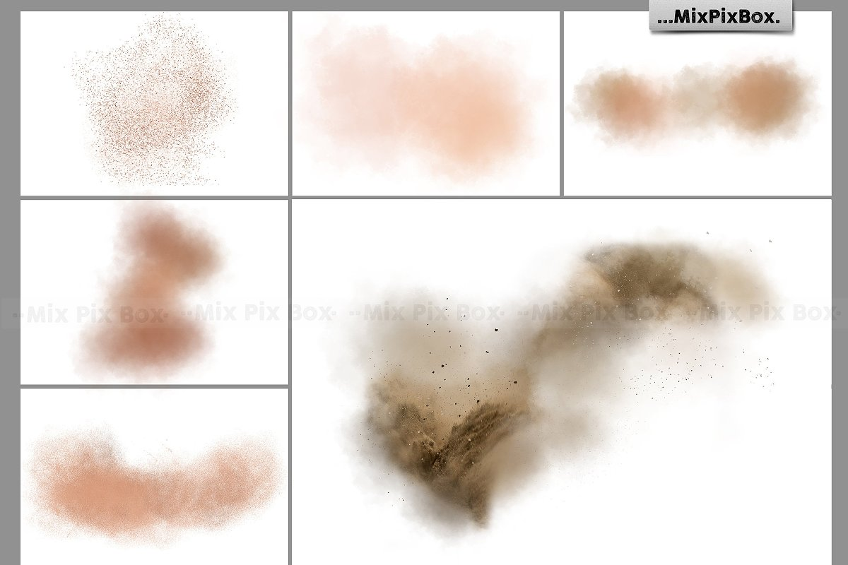 Dirt Explosion Photo Overlays in Add-Ons - product preview 3