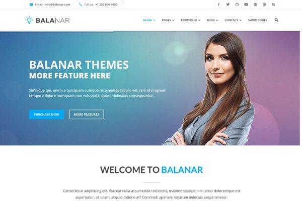 Balanar - Multipurpose HTML Templat…