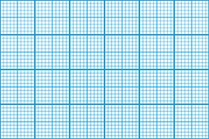 Graph paper cyan seamless pattern