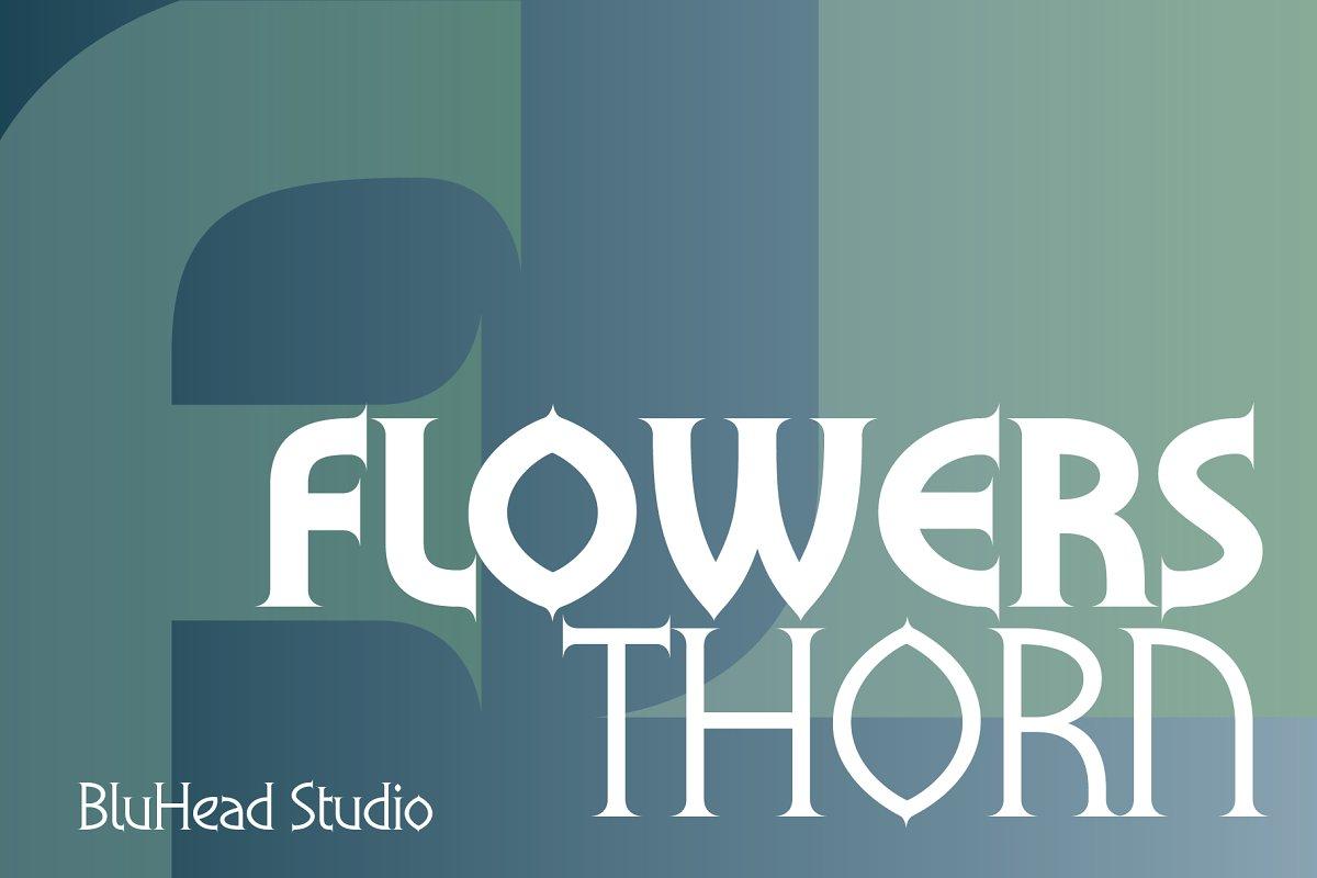 Flowers Thorn