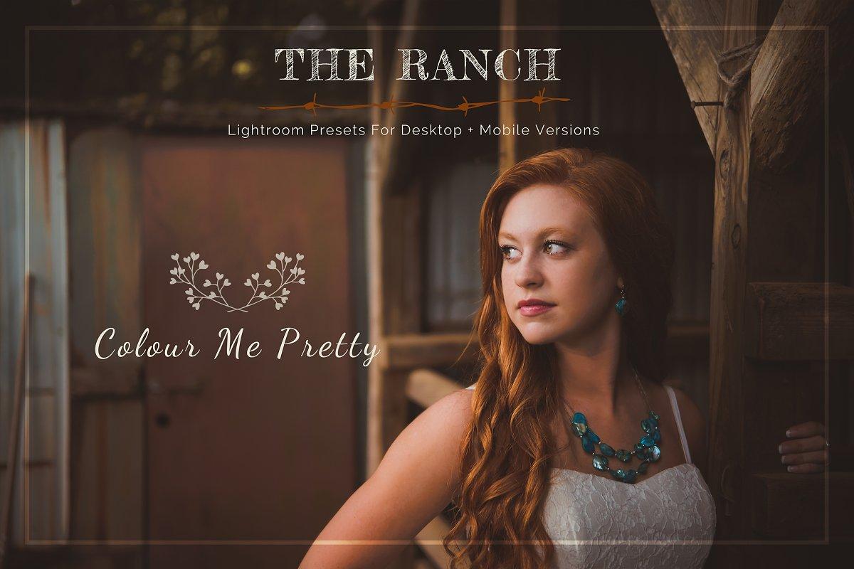 Ranch Presets for Lightroom + Mobile