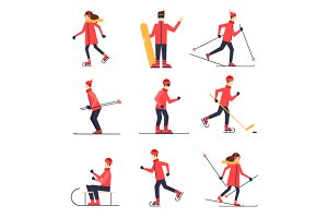 Winter sports.