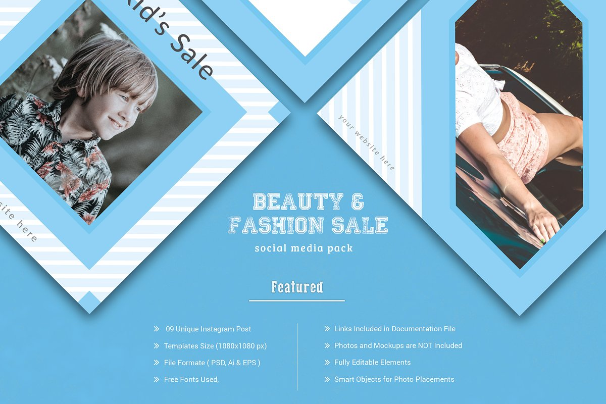 Fashion Sale Social Media Pack