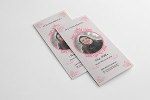 Trifold Funeral  Template-V250