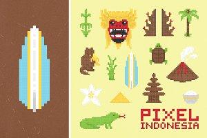 Pixel Indonesia set