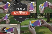 Apple iPhone 6S PSD Mockups Vol. 1