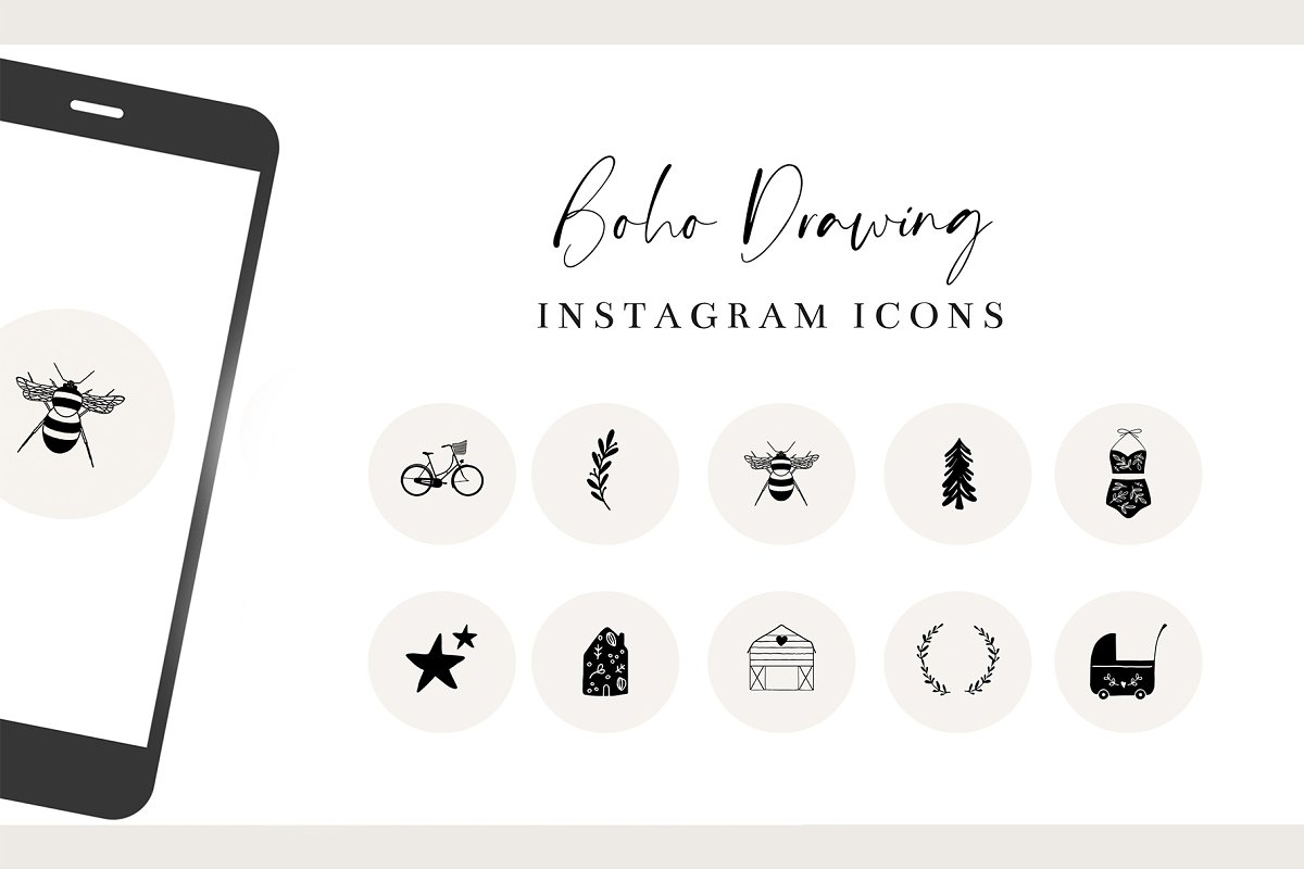 Drawing Instagram Icons