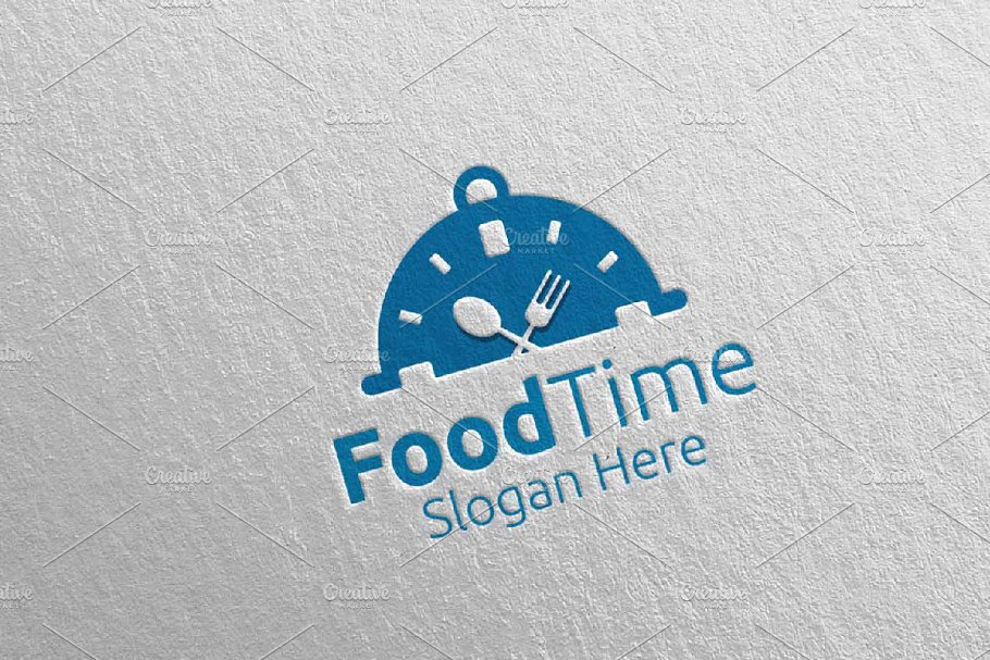 Food Time Logo Restaurant or Cafe 62