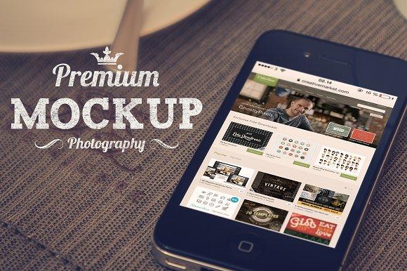 iPhone Photography Mock-Ups