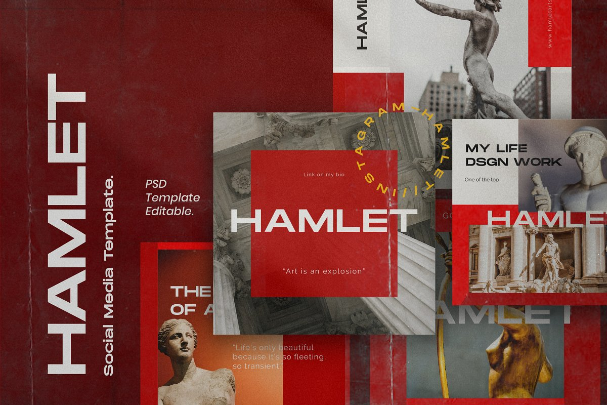Hamlet - Social Media KIT Bundle
