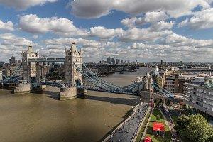 London cityscape view