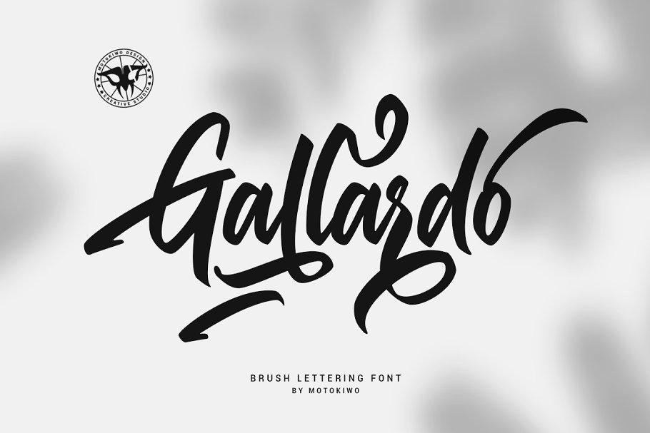 Gallardo Script