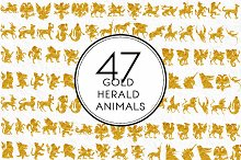 Gold Herald Animals