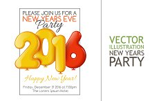 Invitation to New Year's Party