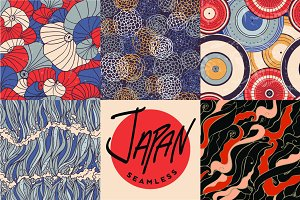 Japan style seamless set
