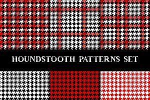 Houndstooth pattern set