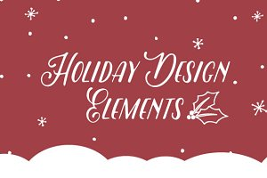 139 Holiday Design Elements