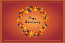 Autumn Thanksgiving Banner