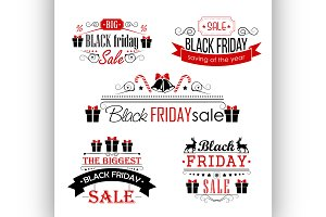 Black Friday Sale Calligraphic
