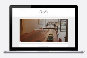 Semplice - An Elegant WordPress Blog
