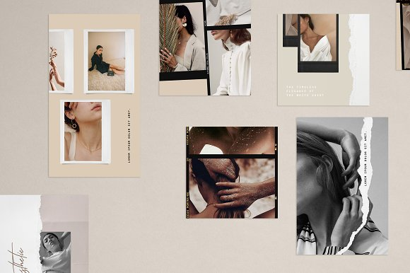 Paper and Film Social Kit in Instagram Templates - product preview 3