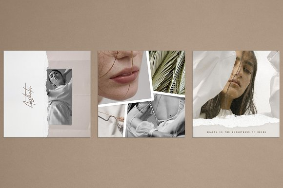 Paper and Film Social Kit in Instagram Templates - product preview 5