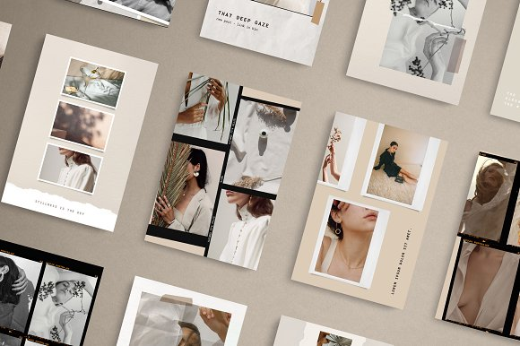 Paper and Film Social Kit in Instagram Templates - product preview 7