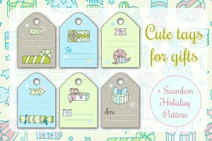 Cute gift tags for presents
