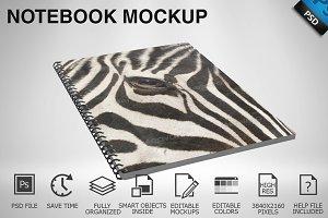 Notebook Mockup 01