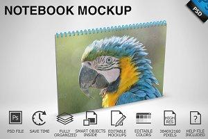 Notebook Mockup 03