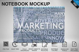 Notebook Mockup 04