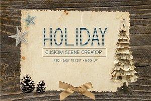 Holiday Custom Scene Creator