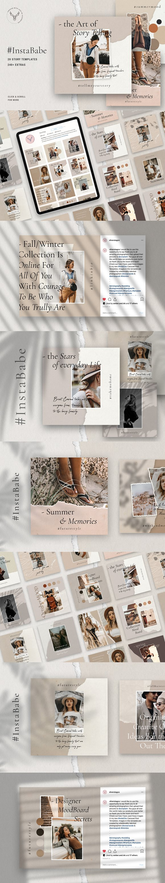 Ultimate Instagram Bundle + Updates in Instagram Templates - product preview 1