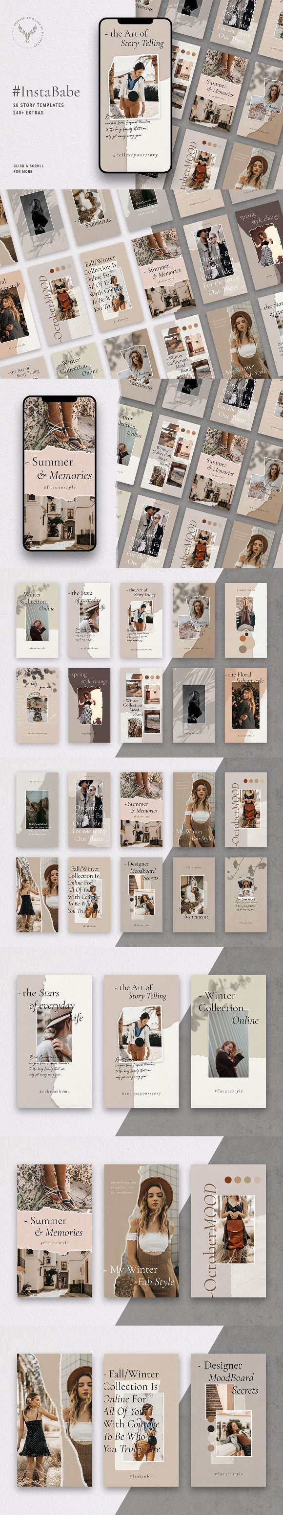 Ultimate Instagram Bundle + Updates in Instagram Templates - product preview 2