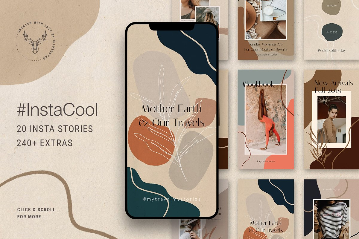 Ultimate Instagram Bundle + Updates in Instagram Templates - product preview 17