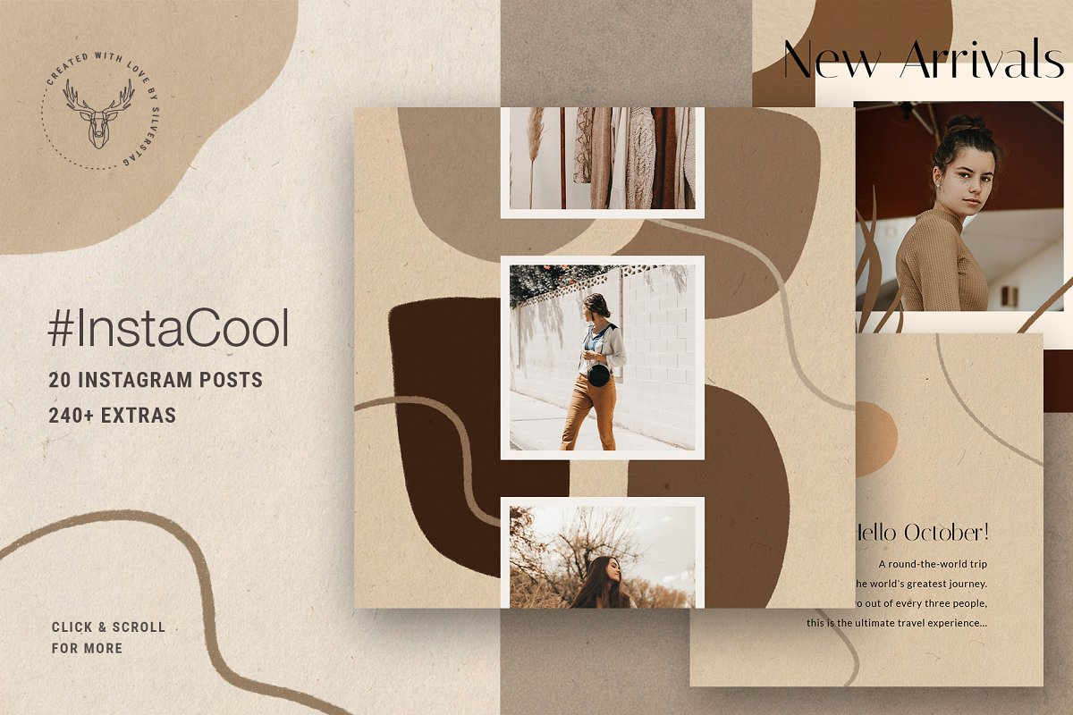 Ultimate Instagram Bundle + Updates in Instagram Templates - product preview 16