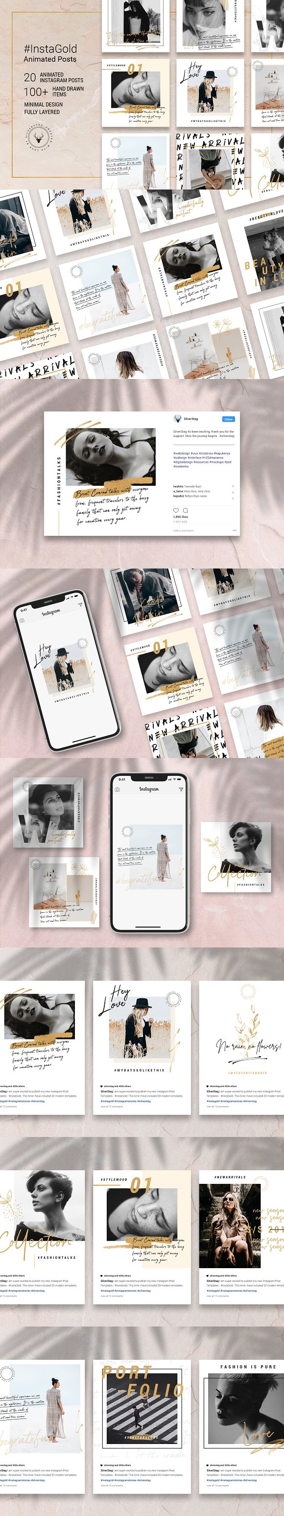 Ultimate Instagram Bundle + Updates in Instagram Templates - product preview 6
