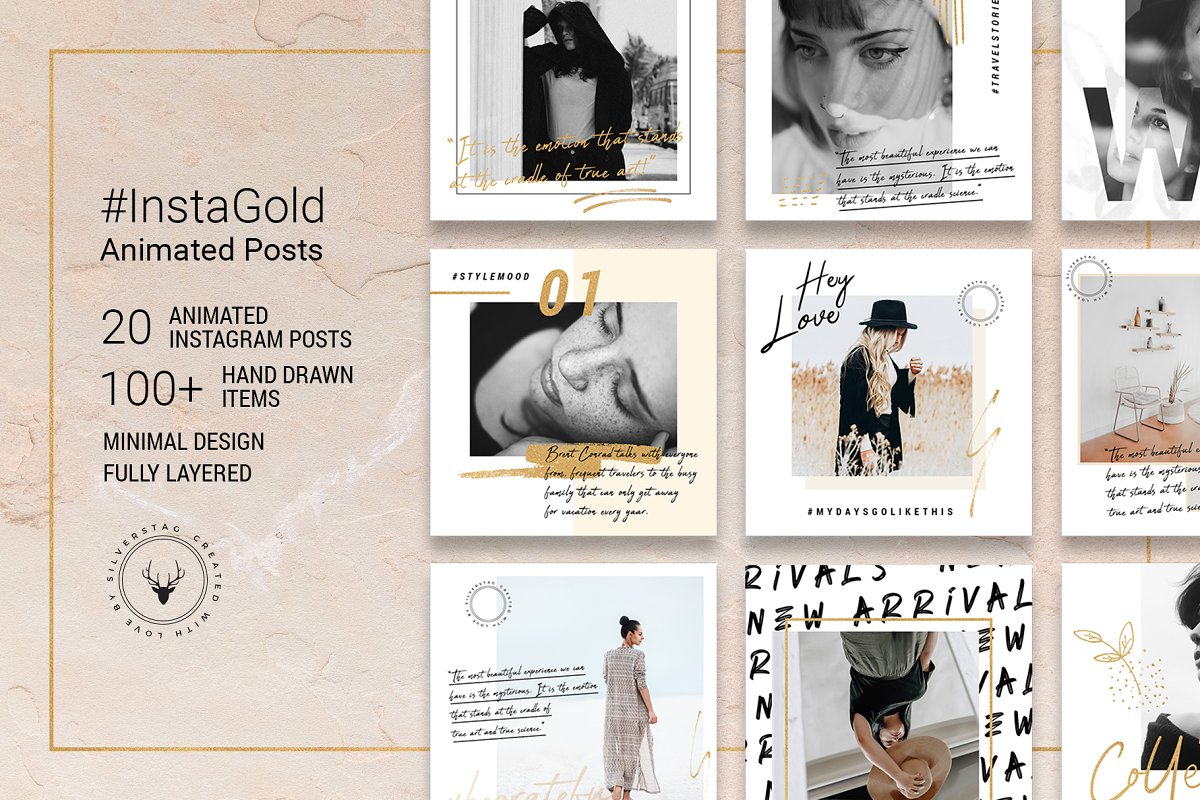 Ultimate Instagram Bundle + Updates in Instagram Templates - product preview 14