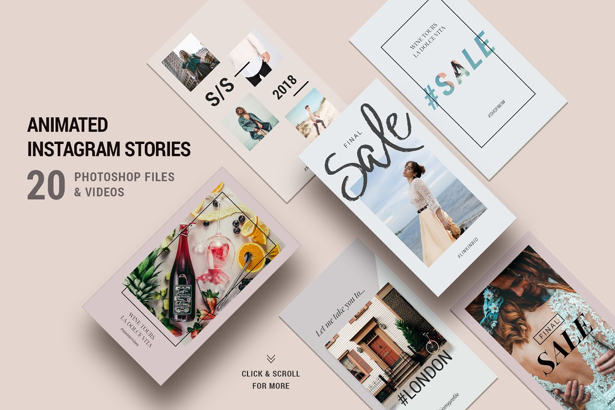 Ultimate Instagram Bundle + Updates in Instagram Templates - product preview 5